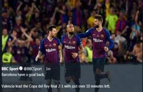 Skuat Barcelona untuk Hadapi Valencia di Final Copa del Rey